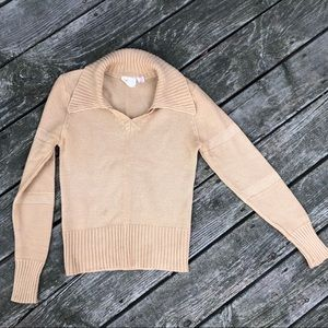 Vintage 70's collar sweater.